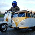 Volkswagen combi side car !