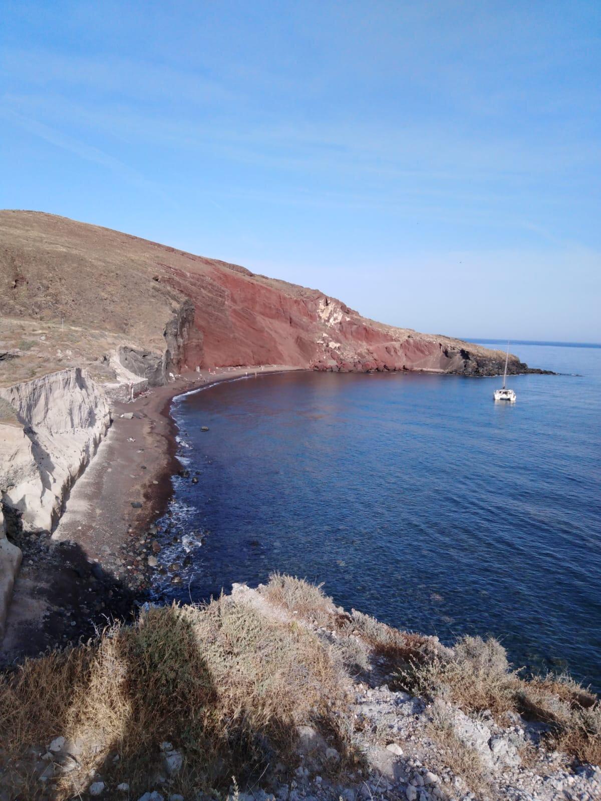 Echos, échos d'une semaine passée sur l'Ile de Santorin