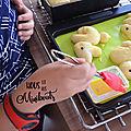 Un goûter chez les sylvanian families – mes petites brioches en forme de lapin