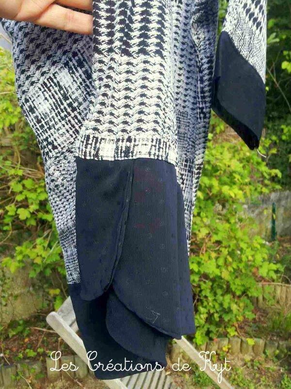 Couture variations sur haut femme (2)