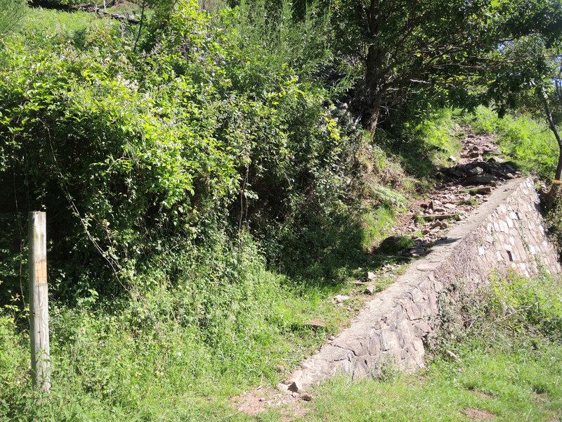 A) Bidarray, départ, ferme Arouchia