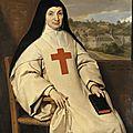 1654 Philippe de Champaigne - Mère Angélique Arnauld (Louvre)