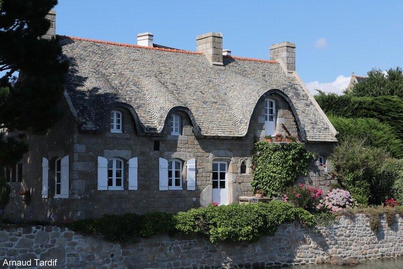 001367 Guidel - La Ria d'Etel - Saint-Cado - La Maison de Chaume