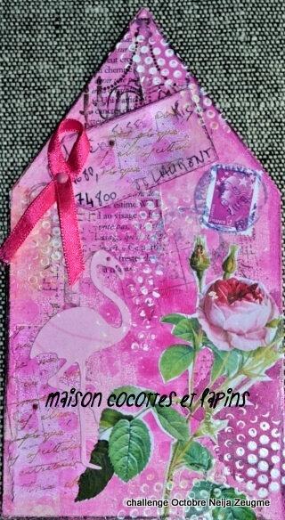 octobre rose cocotte et lapins