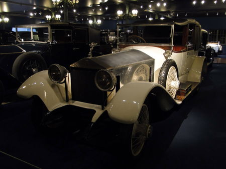ROLLS ROYCE Silver Ghost Landaulet 1921 Musée National de l'Automobile de Mulhouse, collection Schlumpf