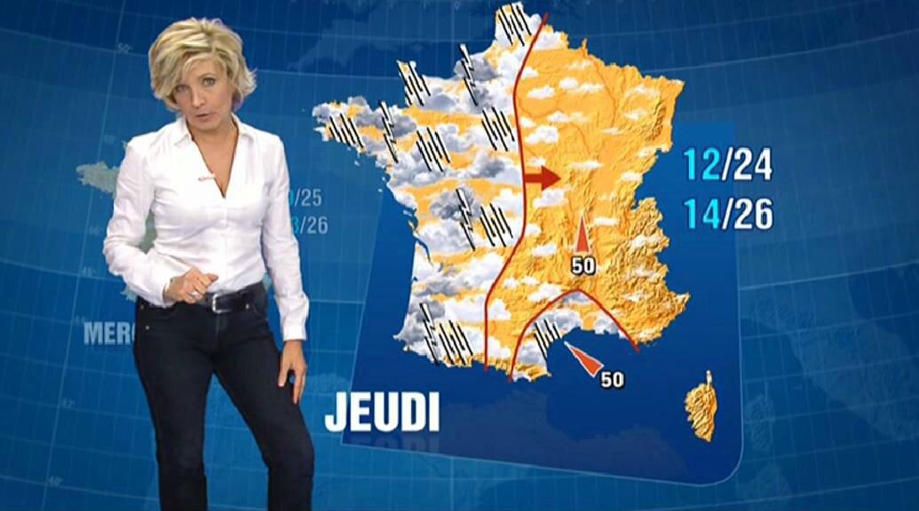 Evelyne Dhéliat jean haut blanc 2180 20 09 10