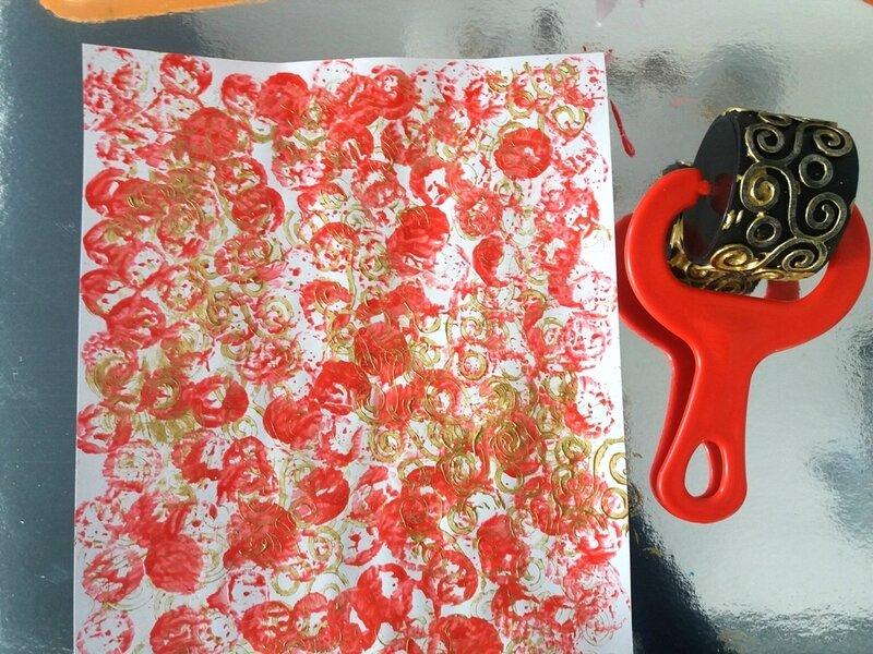 282_Noël et Nouvel an_Carte ou calendrier rouge et or (12)