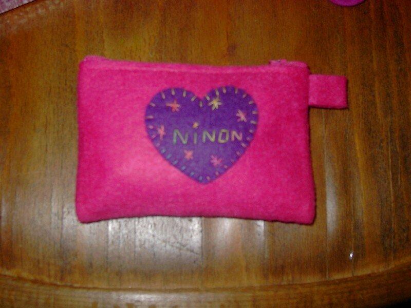 porte-monnaie pour Ninon