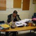 Le bureau de Mlle Fradet ; La Directrice