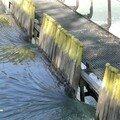 Les aiguilles d'un barrage