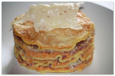 Lasagnes courge pancetta1
