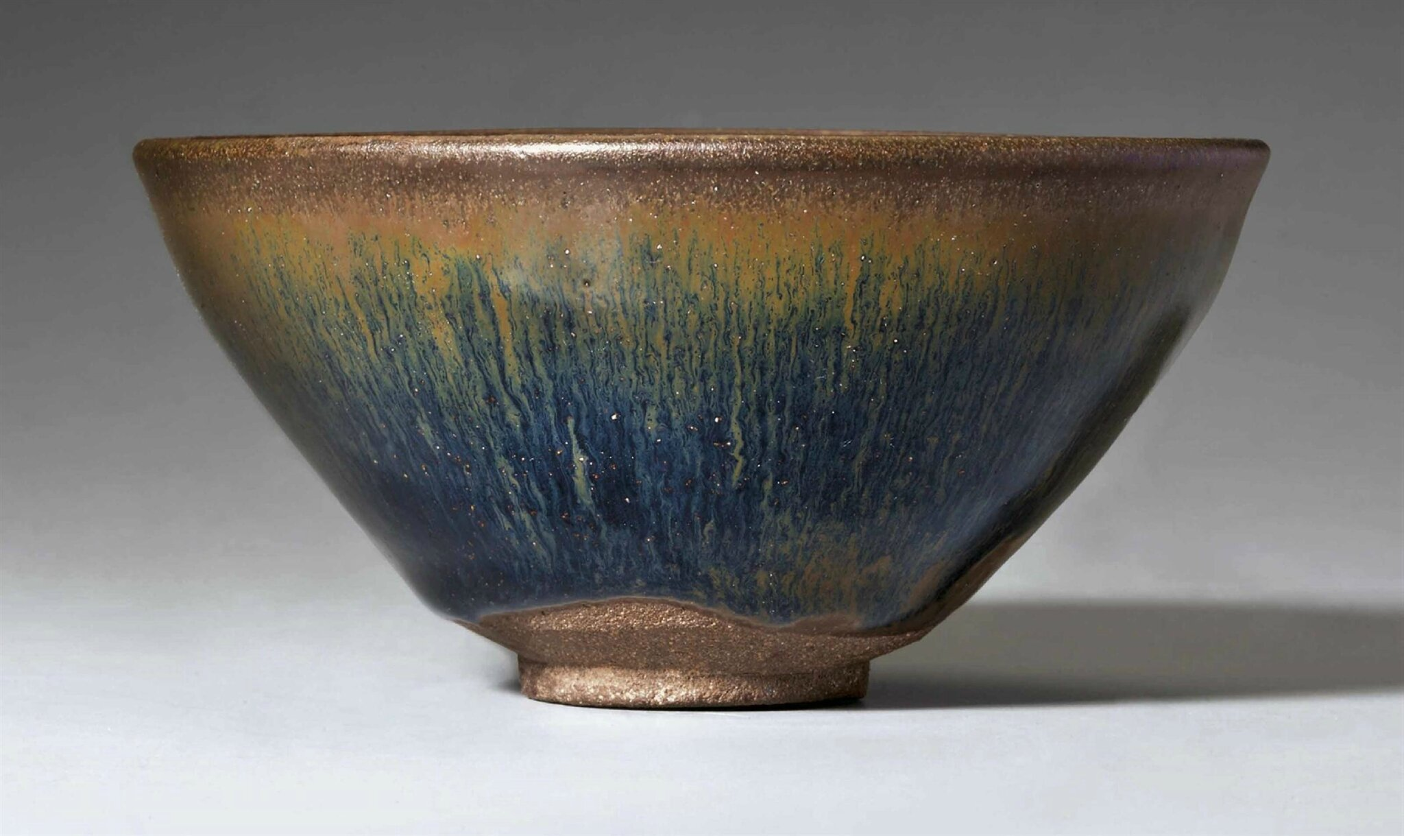 A Jianyao 'Hare's fur' tea bowl, Southern Song Dynasty, 12th-13th century