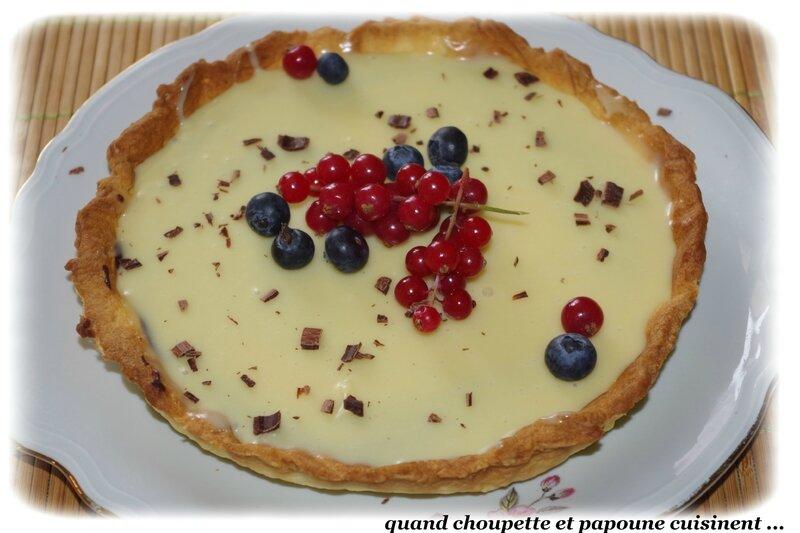 tarte aux deux chocolats-8878