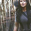Jennifer Lawrence as Katniss Catching Fire