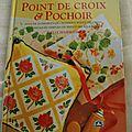 Livre point de croix et pochoirs edition dmc