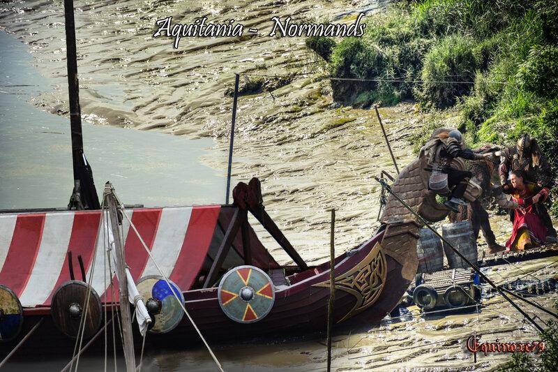 Aquitania Aquitaine, Normands Vikings