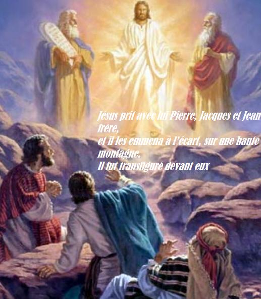 Evangile et Homélie du Dim 12 Mars 2017. La transfiguration du ...