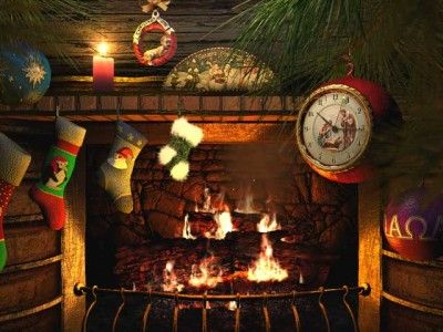 fireside_christmas_3d_screensaver