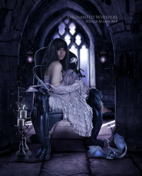 JESSICA ALLAIN - THE PARALLEL WORLD OF MORGAN & ADA