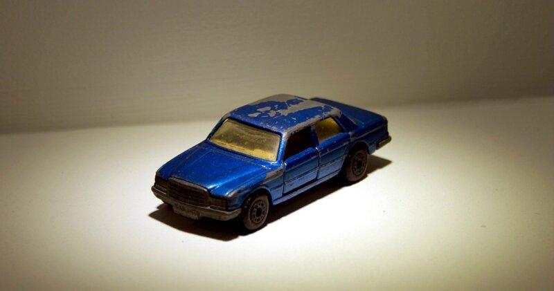 Mercedes 450 SEL de chez Matchbox (ref 56) 01