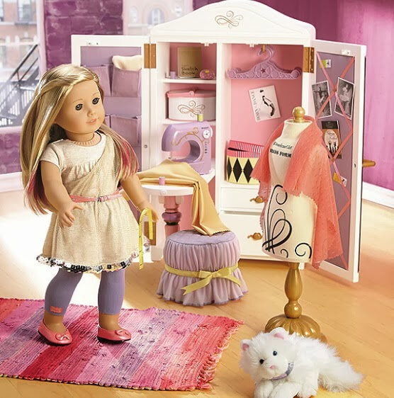 Isabelle Palmer 2014 American Girl of The Year Fashion Design Studio