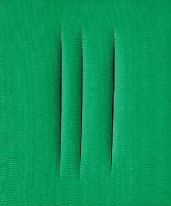 Lucio Fontana (1899-1968), Concetto spaziale, Attesa, 1967