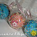 Mes cupcake pops