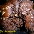 Muffins choco pistache