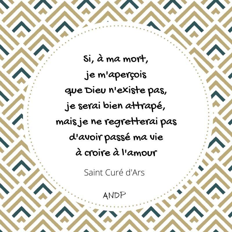 Saint Curé d'Ars