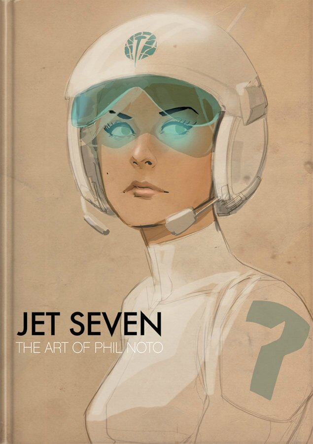 jet seven the art of phil noto