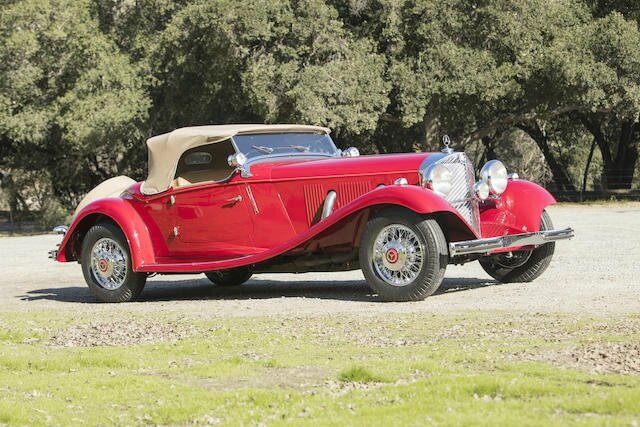 1936 mercedes-benz 500k sports roadster - alain.r.truong