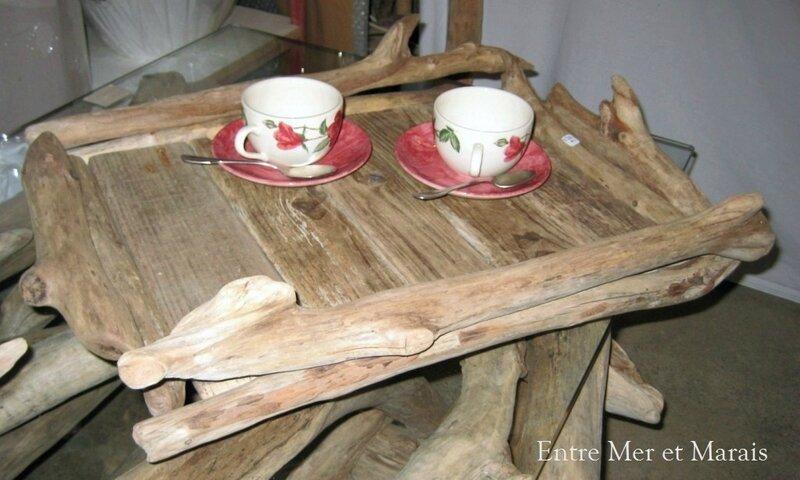 plateau bois flotté 2
