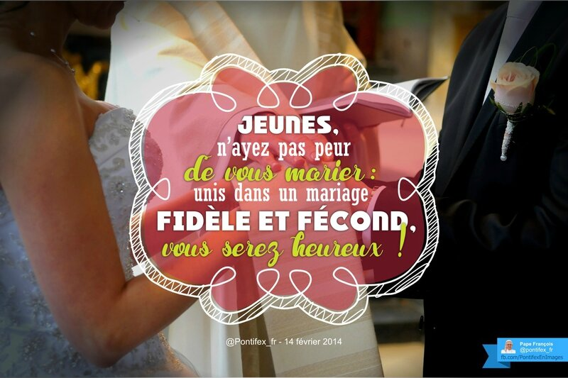 Mariage heureux