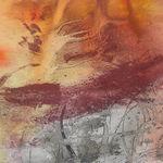 Sans_titre_2008__Ocre_de_Roussillon_et_acrylique_sur_papier_40cmx40cm