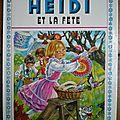Heidi à la fête