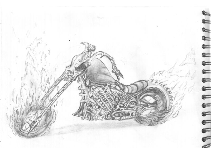 Ghost rider the caca 39 s blog - Coloriage ghost rider ...