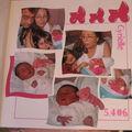 Gabarit duo naissance