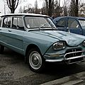Citroën ami 6 berline 1961-1969