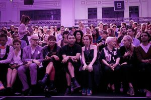 The ITS 2013 Jurors before the fashion show DB