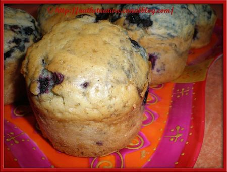 American blueberry muffins - 1