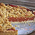 Streusel aux coings