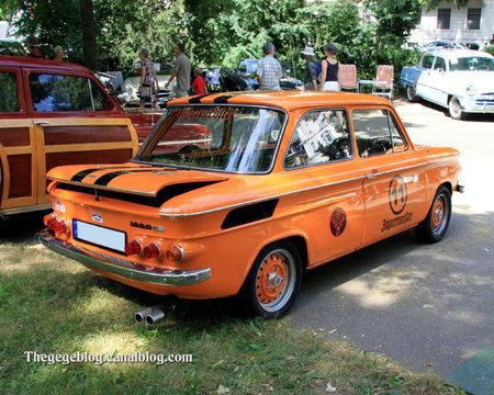Nsu 1000 type C de 1969 (34ème Internationales Oldtimer meeting de Baden-Baden) 02