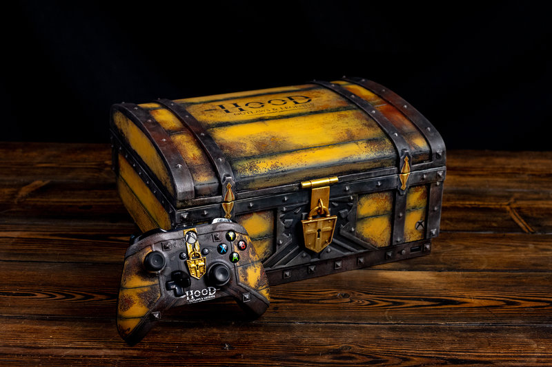 Xbox One X custom : Hood: Outlaws & Legends
