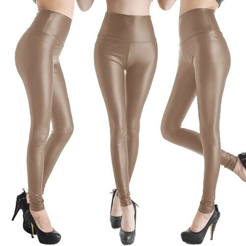 Hot-Sale-Faux-Leather-High-Waist-Leggings-Stretch-PU-Material-Pants-Ladies-Fashion-Leather-Leggings (5)