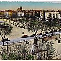 Béziers - place Jean Jaures - Statue Paul Riquet datée 1949