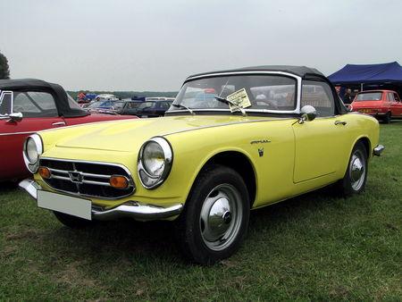 HONDA S 800 Convertible 1967 Retro meus Auto Lac de Madine 2010 1