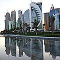 Doha (7) lumière de fin d'après-midi