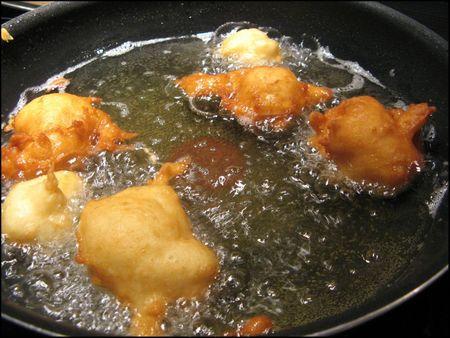 croustillons cuisson