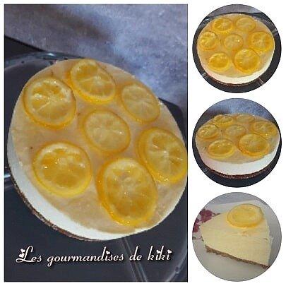 Le zestissimo (entremet au citron)