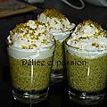 Cappuccino de pistaches